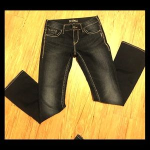 Silver Jeans boot cute 27x33 NWOT